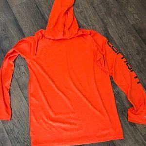Men's xxl carhartt hooded shirt